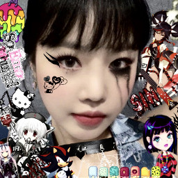 freetoedit soojin draincore emo icons edit lq cyber core webcore web goth rawr softbot eboy egirl catboy catgirl messy drain twt uwu draingang layouts cybergoth