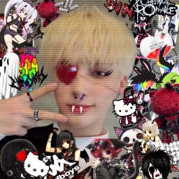 freetoedit draincore emo icons edit lq cyber core webcore web goth rawr softbot eboy egirl catboy catgirl messy drain twt uwu draingang layouts cybergoth pfp