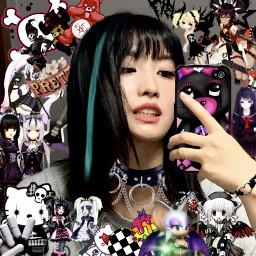 freetoedit momo draincore emo icons edit lq cyber core webcore web goth rawr softbot eboy egirl catboy catgirl messy drain twt uwu draingang layouts cybergoth