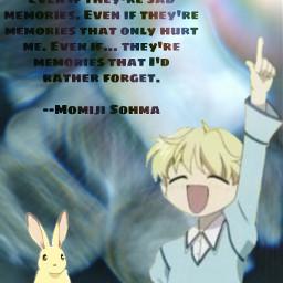 freetoedit momijisohma rabbit zodiac anime manga fruitsbasket fruitsbasket2019 tohruhonda kyosohma yukisohma