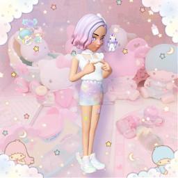 zepeto myzepeto zepetoedit fairykei fairykeifashion pastel pastelaesthetic littlestartwins sanrio hellokitty pastelkawaii unicorn freetoedit