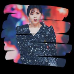 twice jeongyeon twicejeongyeon feelspecial scribble glitter black white freetoedit