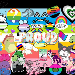queer pride pridemonth freetoedit