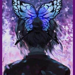 anime animegirl demonslayer demonslayeranime kawaii kawaiigirl fondosdepantalla fondo fondos fondoanime fondosanime fondostumblr fondodepantalla fondoslindos fondosdebloqueo fondoscool fondosoriginales fondosdepantallalindos mariposa farfalla shinobu shinobukocho shinobukochou