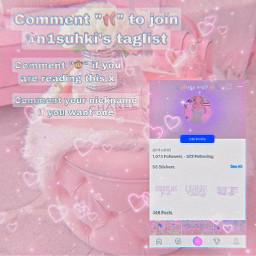 taglist pink n1suhki freetoedit
