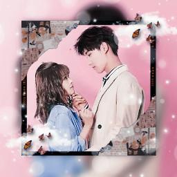 xinzhaolin bailu 白鹿 世界欠我一次初恋 luckysfirstlove series love china chinese lusynda9 pink