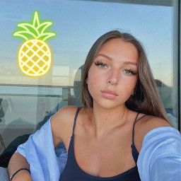 freetoedit maddybecker28 abacaxi evaqueen
