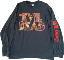 clothes style fashion aesthetic the evil dead theevildead shirt black freetoedit
