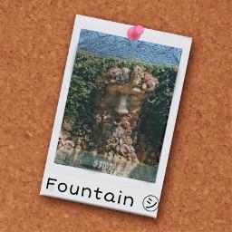 freetoedit pinboard fountain greek poloroid pushpin