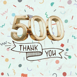 500followers thankyou
