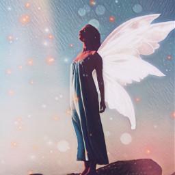 fairy editbyme freetoedit sparkle magic