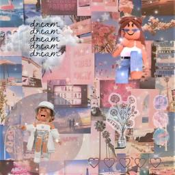 freetoedit dreamy dream dreamyaesthetic clouds aestetic robloxdreamy robloxaestetic dreams pink blie pastel robloxedit