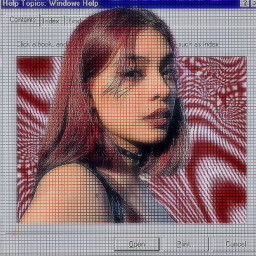 replay editedwithpicsart picsartreplay vsco color aesthetic tumblr girl freetoedit blur frame cybercore cyber cybergoth cyberpunk pc cybersoft background red grunge motionblur