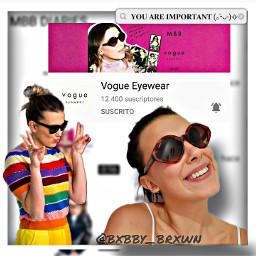 vogueeyewear milliebobbybrown mbb freetoedit