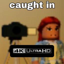 freetoedit caughtin4k roblox meme