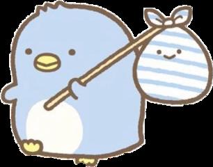 penguin kawaii cute cutesticker sticker blue sumikkogurashi sumikkogurashiaesthetic aesthetic art anime animal sanx sanrio sanriocore freetoedit