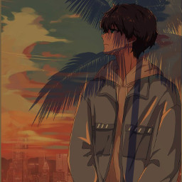 freetoedit gtg_z everybodyisleaving sunsetsky eveningsky animequotes mysoul