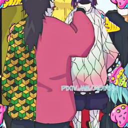 anime memesanime tomiokagiyuu kochoushinobu kny demonslayer shinobuxgiyuu freetoedit local srcsweeticecreambackground sweeticecreambackground