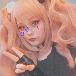 junko junkoenoshima danganronpa anime cosplay