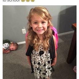 freetoedit school meme girl boy
