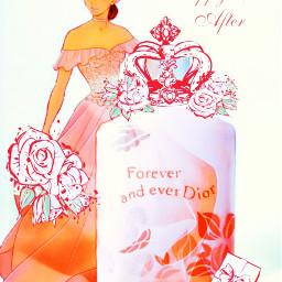 perfume princess disneyprincess dior christiandior foreveverandever happyeverafter foreverandeverdior wedding bride onceuponatime bouquet bridalgown peach crown ircmypersonalbrandedbottle mypersonalbrandedbottle