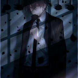 gtg_z everybodyisleaving animeqoutes sadanime anime darksoul darkness darklight darklife alone you stopped peace picsart freetoedit local