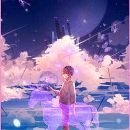gtg_z everybodyisleaving anime /animesworld_ violetpurple darkpurple dark pa picsart soulmates freetoedit local