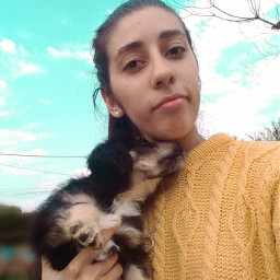 selfie fotografia picsart kawaii naturaleza🍃 perro arte naturaleza