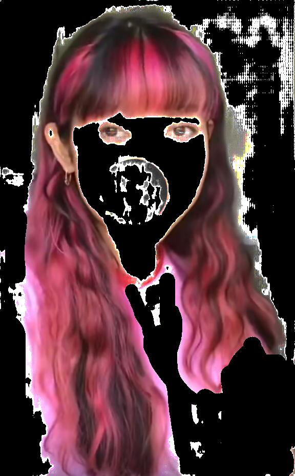 #draculaura #draculaurahair #monsterhigh #monsterhighdoll #monsterhighhair #pinkhair #hair #draculaura #fringe #wavyhair #draculauramh  #freetoedit