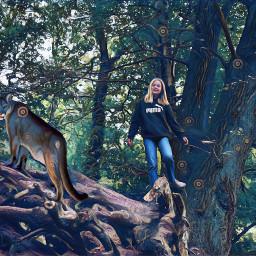 cougar girl freetoedit