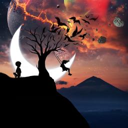 freetoedit fantasy surreal artistic landscape remix