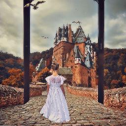 freetoedit castle ipad princess surreal