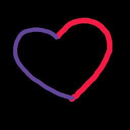 draw sugar_neon cute heart followme edit siguemeplz fnf corazón cool