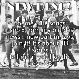 newdesc newtheme blackandwhite hp394 1d onedirection songs albums always directioner hp hopeyoulike loveyouall local