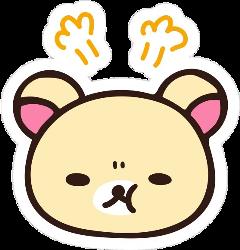 art aesthetic anime japan rilakkuma rilakkumabear kawaii sanrio sanx freetoedit