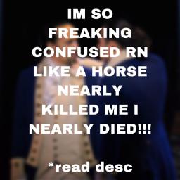 freetoedit hamilton horse help trauma wth inearlydied
