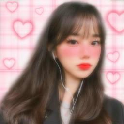 freetoedit replay filtro filtros filter filters efecto efectos effect effects background fondo rosa corazones hearts rosita pink cuadros blush eyelashes blur motion borroso movimiento kawaii