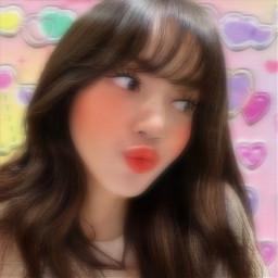 freetoedit replay filtro filtros efecto efectos effect effects background fondo amarillo yellow pink rosa corazones hearts rosita cute kawaii lindo bonito blur motion borroso softcore
