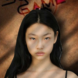 freetoedit saebyeok junghoyeon player067 squidgame edit squidgameedit