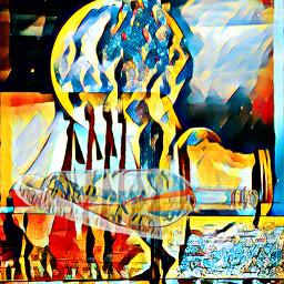 freetoedit silhouetteman beach ocean magiceffect surrealism shipinabottle messageinabittle otherworldly ircsunsetsilhouette sunsetsilhouette