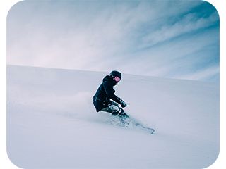 a cool image of a snowboarder