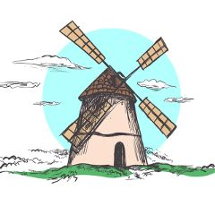 Create,cool,drawings,of,windmills,and,submit,to,this,challenge!